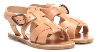 Ancient Greek Sandals Kids Little Leonidas leather sandals
