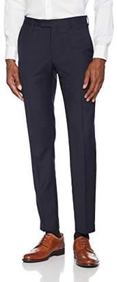 Pierre Cardin Hose Dupont, Men's Suit Pants, Blau (Navy 30)