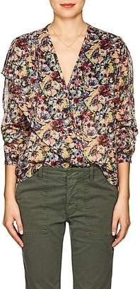 Masscob Women's Kylie Floral Cotton Blouse