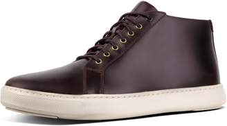 FitFlop Andor Men's Leather High-Top Sneakers