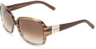 Kate Spade Women's Lulu Tortoise/Gold/Brown Gradient Lens Sunglasses