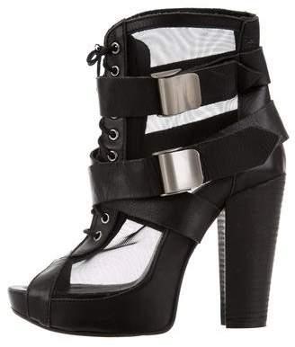Miista Adira Mesh Ankle Boots