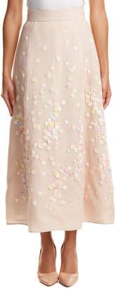 Escada Silk-Blend Skirt