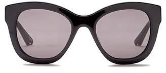 Elizabeth and James Bryant 53mm Oversized Square Acetate Frame Sunglasses