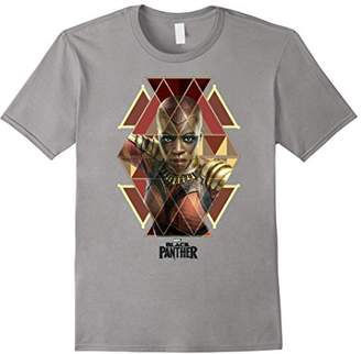Marvel Black Panther Movie Okoye Geo Prism Portrait T-Shirt