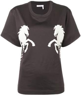 Chloé horse print T-shirt
