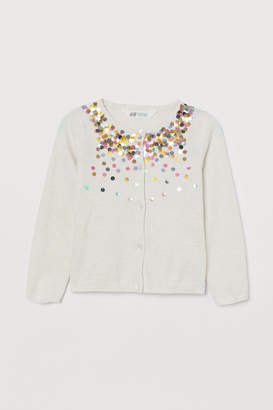 H&M Cardigan with sequins