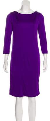 Emilio Pucci Belted Shift Dress