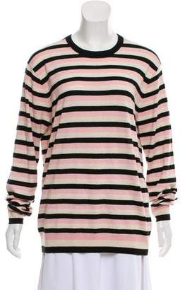 Marc by Marc Jacobs Silk Striped Sweater