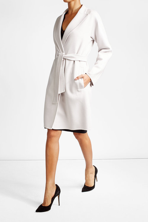 Max MaraMax Mara Virgin Wool Coat with Angora