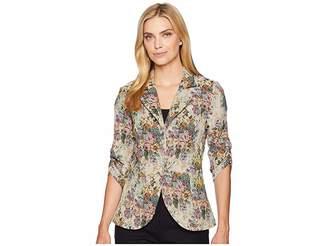 Karen Kane Floral Tapestry Jacket