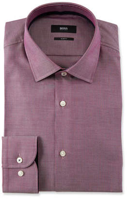 BOSS Men's Micro Design Dress Shirt