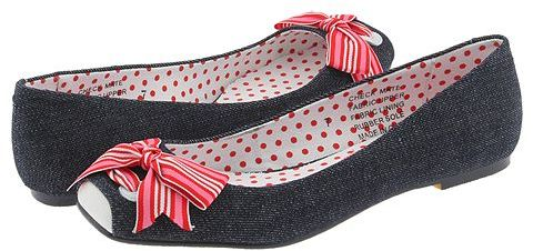 Poetic Licence Check Mate Dark Denim - Footwear