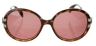 Giorgio Armani Round Tinted Sunglasses