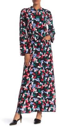 Equipment Britten Maxi Shirt Silk Dress