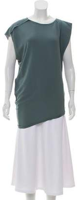 Lanvin Silk Sleeveless Blouse