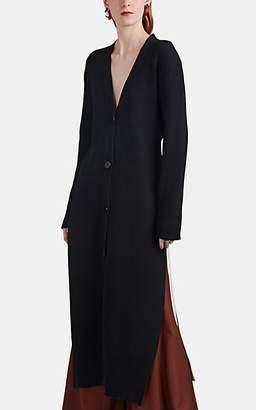 AKIRA NAKA Women's Paneled Rib-Knit Sweaterdress - Black