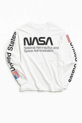 Urban Outfitters NASA Worm Logo Long Sleeve Tee