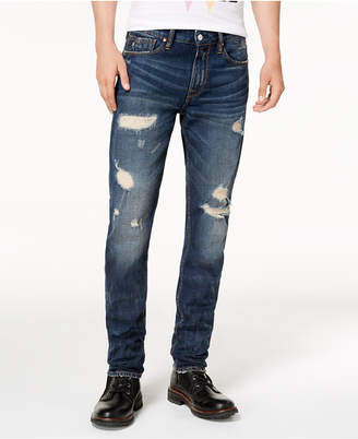 GUESS Men Slim-Fit Tapered Leg Jeans