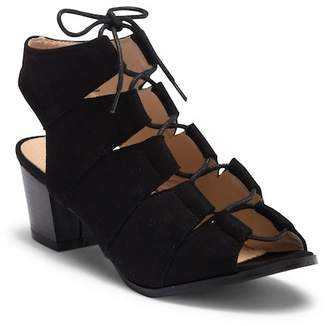 Cecelia New York Aaron Ghillie Slingback Sandal