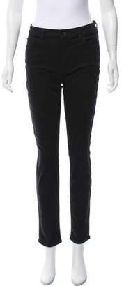 Jen7 Mid-Rise Skinny Jeans
