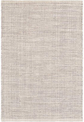 Dash Albert Marled Woven Cotton Rug Grey 61x91cm