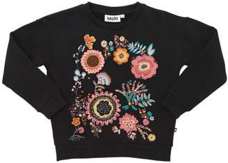 Molo Embroidered Cotton Sweatshirt