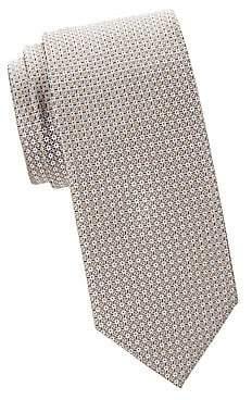 Brioni Men's Patterned Silk Tie