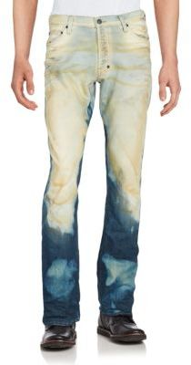Canteen Washed Five-Pocket Jeans $375 thestylecure.com