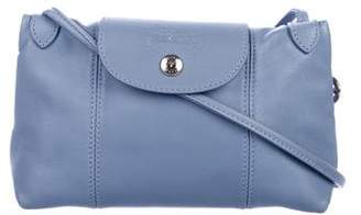 Longchamp Le Pliage Cuir Mini Crossbody Bag