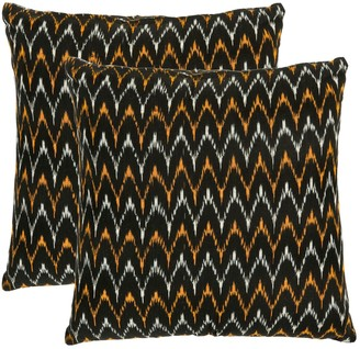 Safavieh Ryder 2-piece 18'' x 18'' Throw Pillow Set