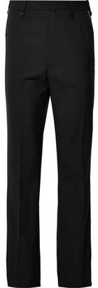 Dries Van Noten Contrast-Trimmed Woven Trousers