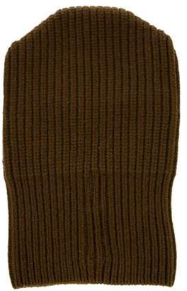Rick Owens Rib Knit Wool Beanie
