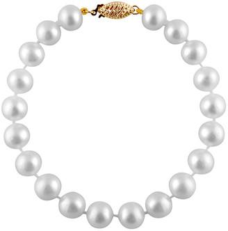 Splendid Pearls Freshwater Pearls 14K 8-8.5Mm Freshwater Pearl Bracelet