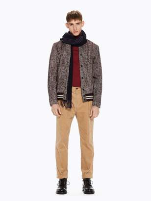Scotch & Soda Herringbone Varsity Jacket