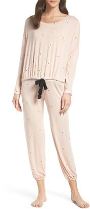 Eberjey Dots Slouchy Pajamas