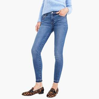 "8"" Toothpick Jean With Let-Down Hem In Bright Medium Wash"