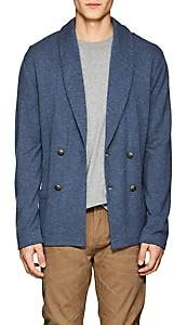 Ralph Lauren Purple Label MEN'S CASHMERE DOUBLE-BREASTED CARDIGAN-BLUE SIZE L