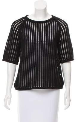 Trina Turk Short Sleeve Knit Sweater