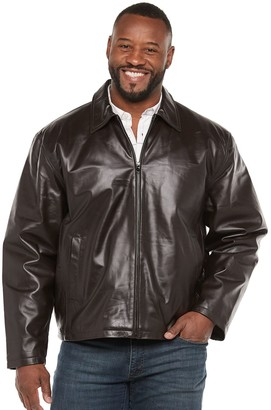 Big & Tall Vintage Leather Split Napa Leather Jacket
