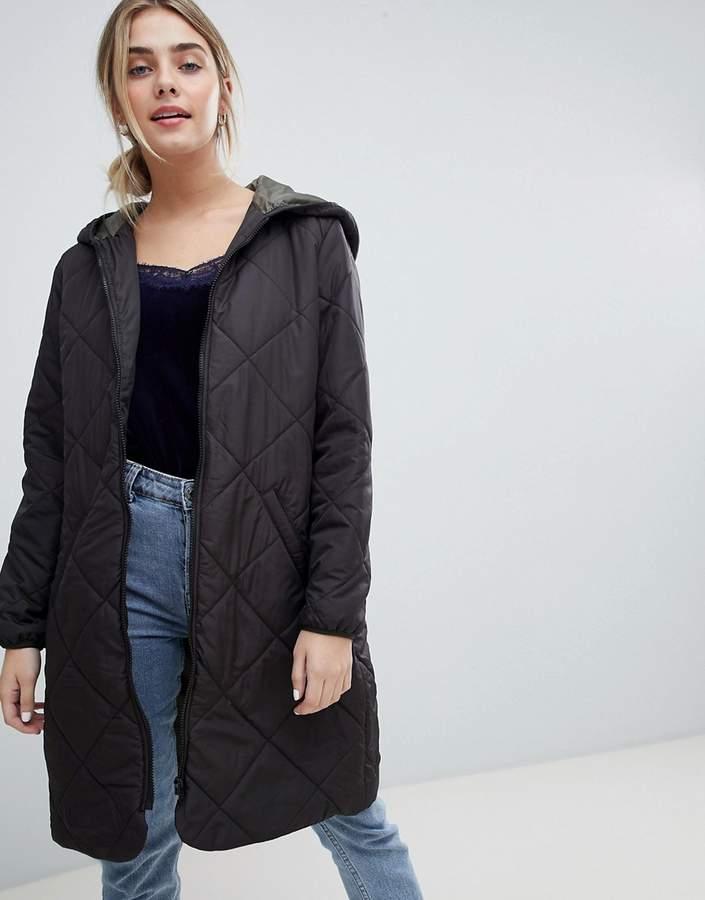 Jdy JDY Tammy Longline Quilted Coat