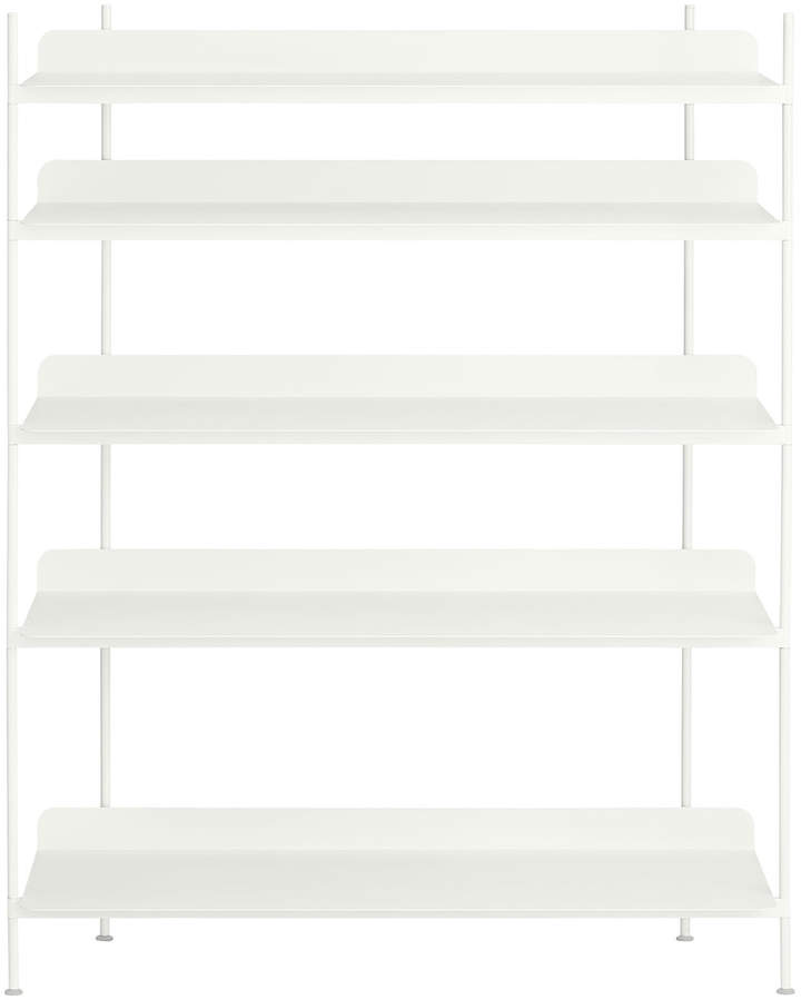 Muuto - Compile Shelving System (Config. 3), Weiß