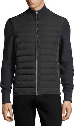 Tom Ford Quilted Zip-Front Cardigan