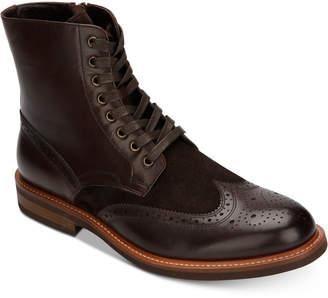 Kenneth Cole Reaction Men's Klay Wingtip Boots Men's Shoes