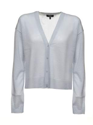Theory Cropped Cardigan