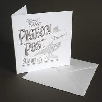 Pigeon Glyn West Design The Post Stationery Co. Card