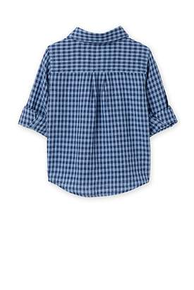 Country Road Linen Mini Check Shirt