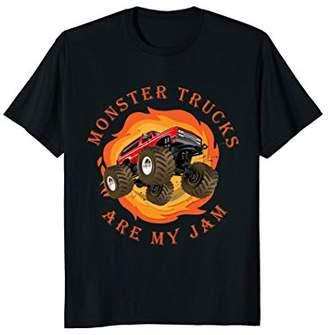 Monster Trucks are my Jam T-Shirt