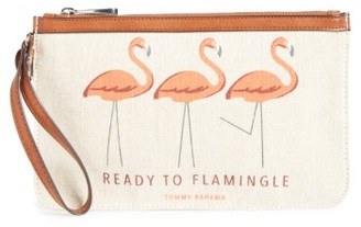 Women's Tommy Bahama Boca Chica Beach Wristlet - Red $48 thestylecure.com