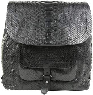 Barbara Bui Black Python Handbag